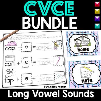 CVCe Long Vowels BUNDLE