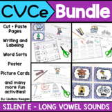 CVCe Worksheets and Activities BUNDLE