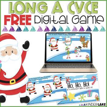CVCe Activity: Long a Interactive FREEBIE