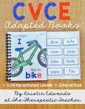 CVCe Adapted Books