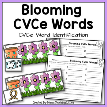 CVCe Blooming Words