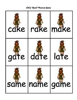"CVCe ""Bonk"" Phonics Game"