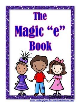 """CVCe Book:  Magic """"e"""" Book"""