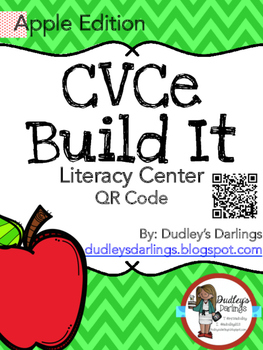 CVCe Build It, Write It, Scan It (Apples Edition)
