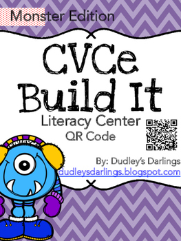 CVCe Build It, Write It, Scan It (Monster Edition)