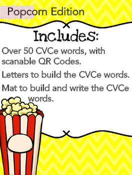 CVCe Build It, Write It, Scan It (Popcorn Edition)