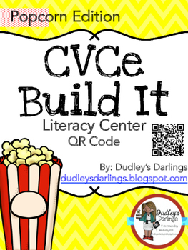 CVCe Build It, Write It, Scan It (Popcorn Edition)