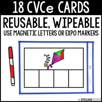 CVCe Cards (Reusable, Wipable)