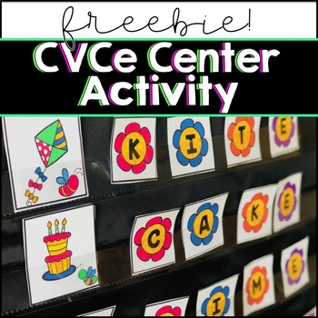 CVCe Center Activity (Freebie!)