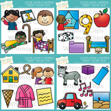 CVCe Clip Art - Magic E Clip Art Bundle - Volume 1
