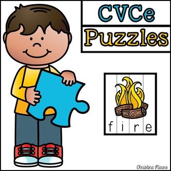 CVCe Cut Apart Puzzles
