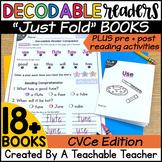CVCe Decodable Readers | CVCe Books | CVCe Reading Passages