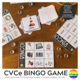 CVCe or Long Vowel Sound Word Family BINGO Game