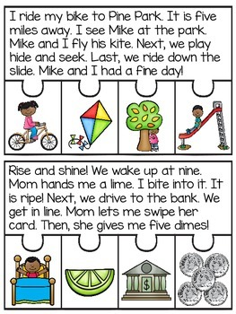 CVCe Fluency and Sequencing Puzzles