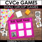 CVCe Games and Partner Activities {Kindergarten Literacy: CVCe Words}