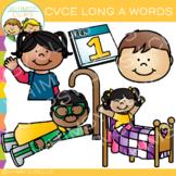CVCe Long A Clip Art - Volume 1