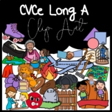 CVCe Long A Clipart: Moveable Images for Paperless Resources