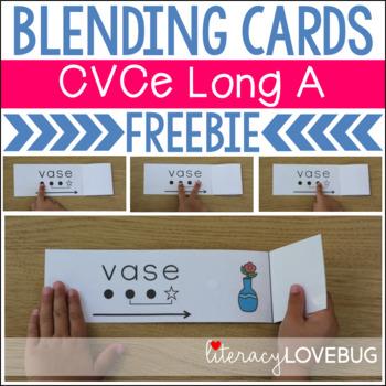 CVCe Long A Blending Cards FREEBIE