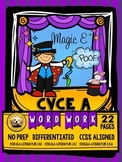 CVCe Long A Word Work No Prep Packet