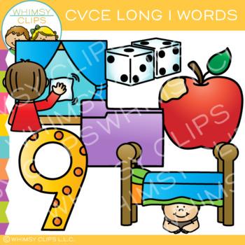 CVCe Long I Clip Art