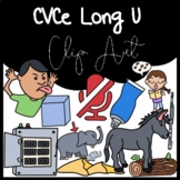 CVCe Long I Clipart: Moveable Images for Paperless Resources