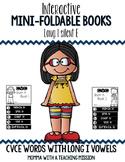 CVCe Long I Mini Flip Book Foldable