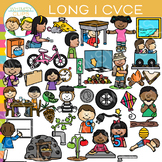 CVCe Long I Word Family Clip Art - Volume Two