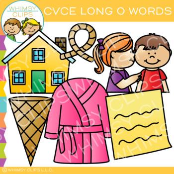 CVCe Clip Art - Long O Clip Art