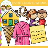 CVCe Clip Art - Long O Clip Art -Volume 1