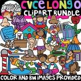 CVCe Long O Clipart {Long O Clipart}