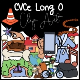 CVCe Long O Clipart: Moveable Images for Paperless Resources
