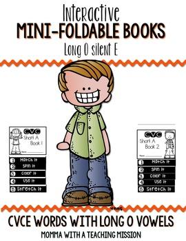 CVCe Long O Mini Flip Book Foldable
