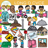 CVCe Long O Word Family Clip Art - Volume Two