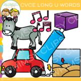 CVCe Long U Clip Art -Volume 1