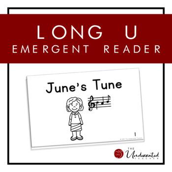 CVCe Long U Emergent Reader & Activities