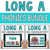 CVCe Long Vowel A Silent E Word Work Paperless Google Classroom PPT BOOM Deck