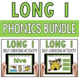 CVCe Long Vowel I Silent E Word Work Paperless Google Classroom PPT BOOM Deck