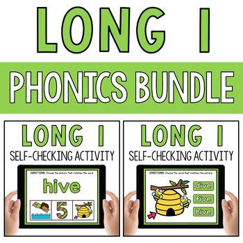Long I Silent E CVCe Activity Google Classroom PowerPoint BOOM Cards