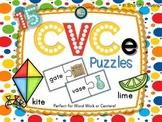 CVCe Long Vowel Puzzles