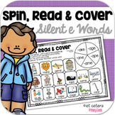 Long Vowel Silent E Word Family Game: Spin, Read and Cover!