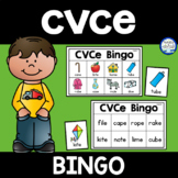 CVCe Long Vowels Bingo Game