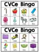 CVCe Long Vowels Bingo Game