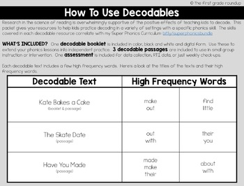 CVCe Long a Decodable Readers and Passages