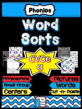 CVCe Long a Word Sort