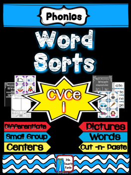 CVCe Long i Word Sort