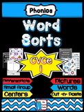 Long and Short I Word Work and Sorts