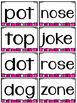 Long and Short O Word Work and Sorts
