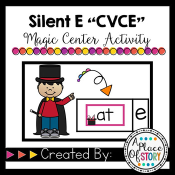 CVCe- Magic E Center Activity