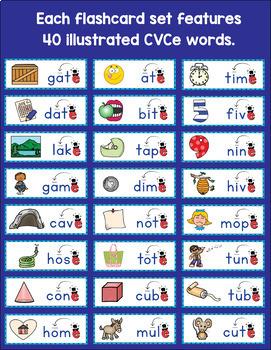Magic e CVCe Word Wall Activities