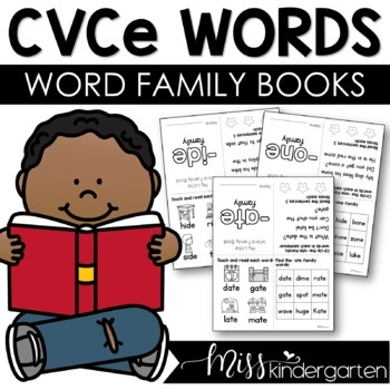 CVCe Magic e Words Word Family Books